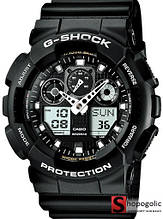 Мужские Наручные Электронные Часы в стиле Casio G-Shock GA 100