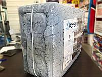 Плед велюровый Aksu 220x240см серый