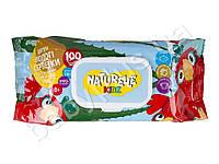 Серветки вологі дитячі Naturelle kidz 3 по 60 шт мікс, фото 1