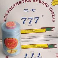 """124 Нитки """"777""""  швейные цветные 40/2 4000ярдов (от 6 бобин)"""