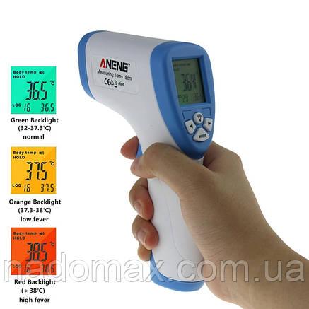 Инфракрасный Бесконтактный Термометр Non-Contact который измеряет  температуру человека даже продукта, фото 2