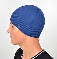 Мужская шапка VIVO №8 джинс, фото 1