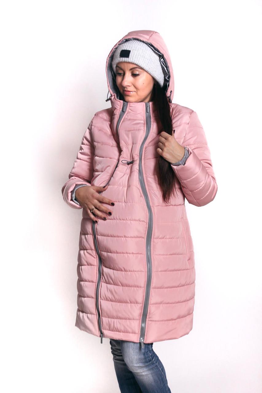 a962a085bf40 Зимняя куртка для беременных 3в1 - Розовый, цена 1 680 грн., купить ...