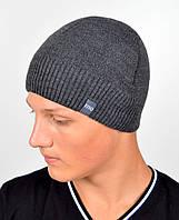 Мужская шапка VIVO №8 Серый