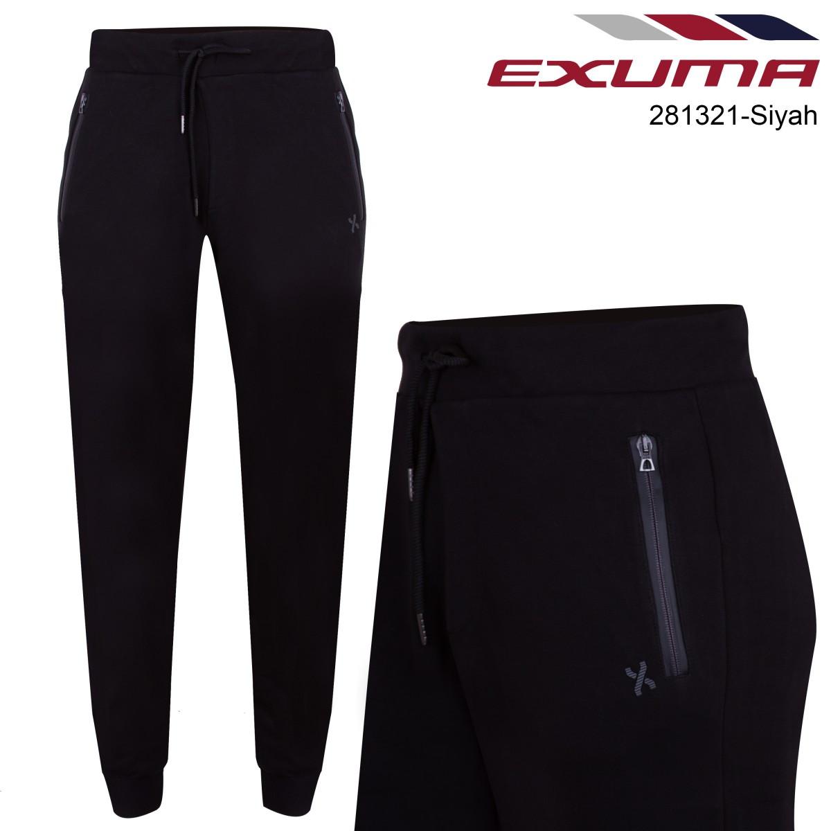 Спортивные брюки мужские EXUMA EXUMA 281321 BLACK