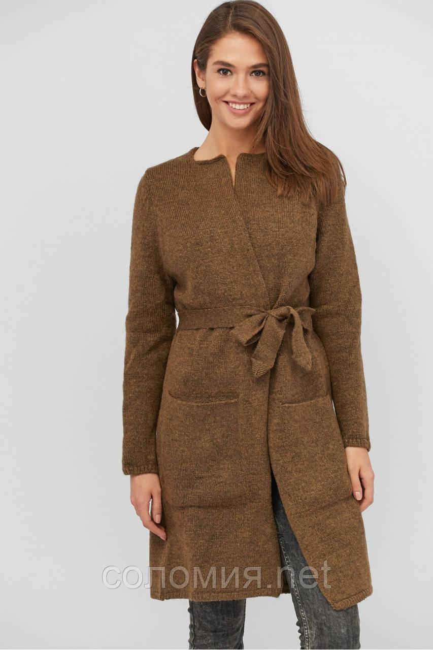 кардиган женский вязаный длинный шерстяной продажа цена в києві светри та