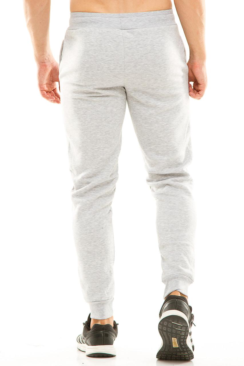 aa8d15e6 Мужские спортивные теплые штаны на манжете 438 серые, цена 270 грн., купить  в Одессе — Prom.ua (ID#780681590)