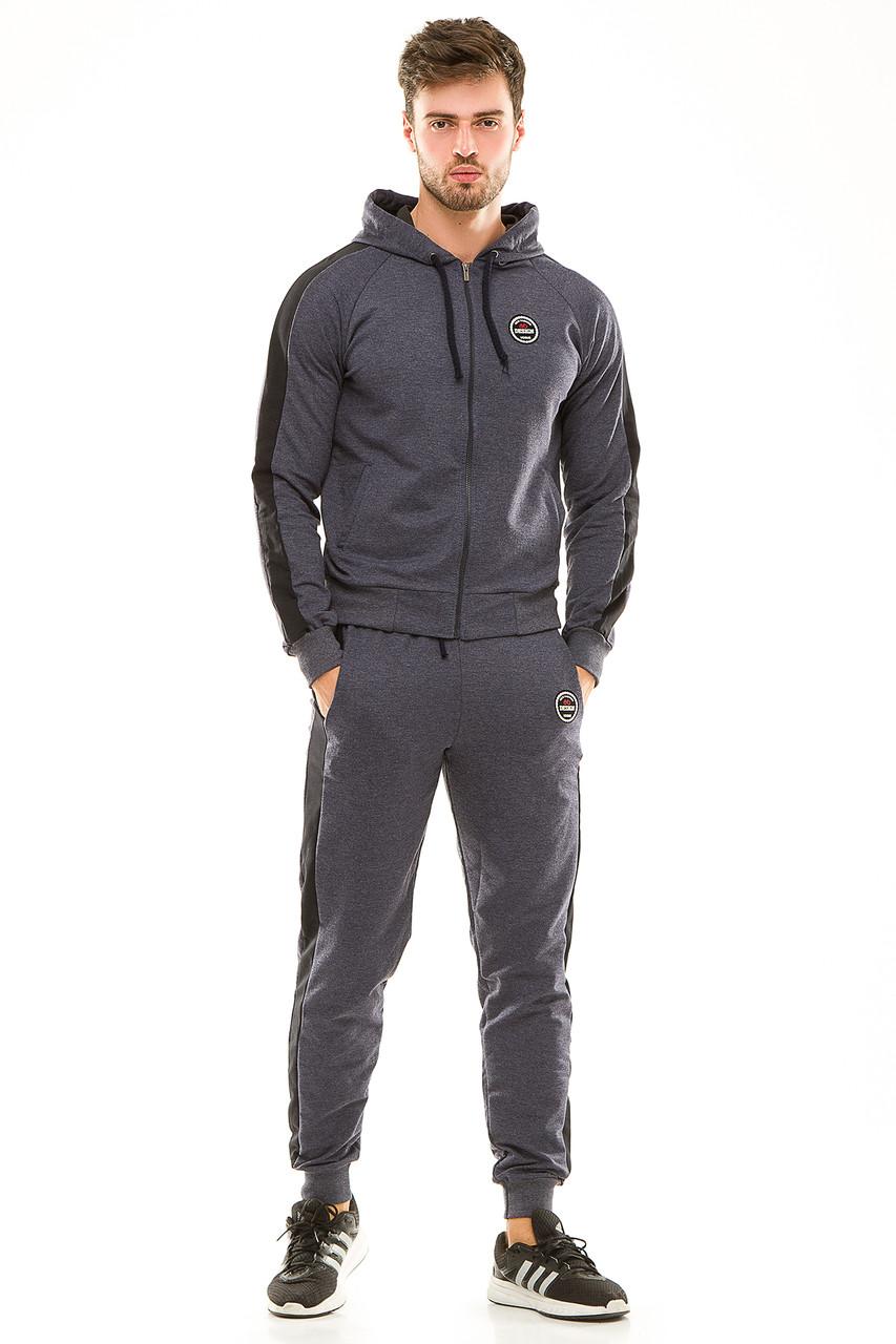 Мужской спортивный костюм 449 джинсовый