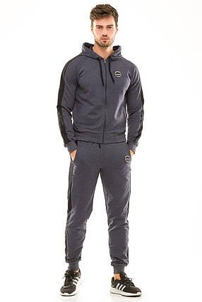Мужской спортивный костюм 449 джинсовый, фото 2