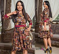 Платье женское батал   Ильза, фото 1