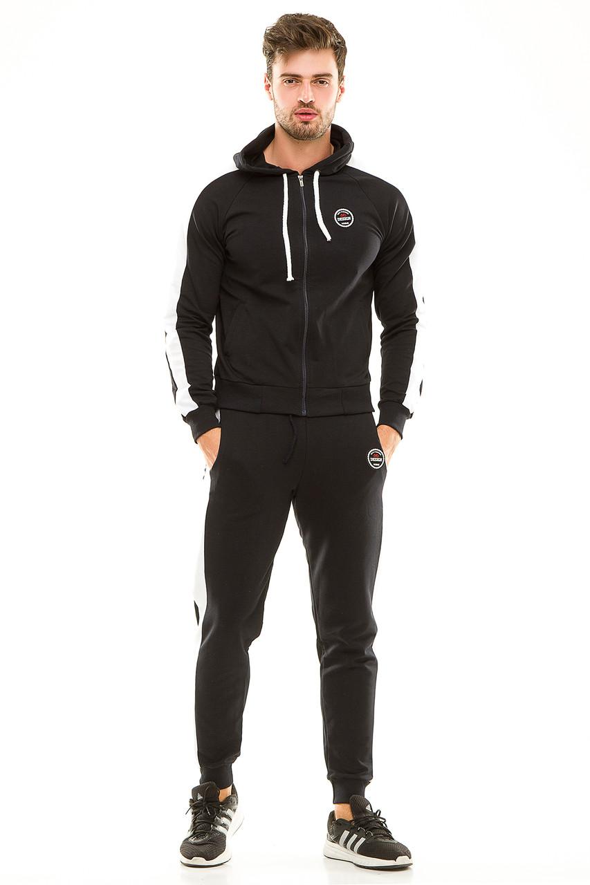 Мужской спортивный костюм 449 темно-синий 50