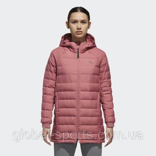 Женский зимний пуховик Adidas Climawarm (Артикул: DM1955)