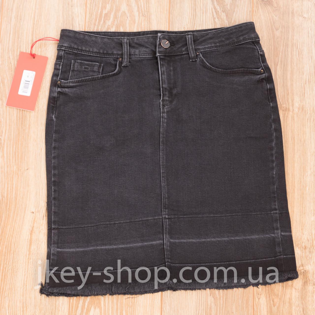 Юбка джинсовая женская V 5028809026 504 BLACK WASH