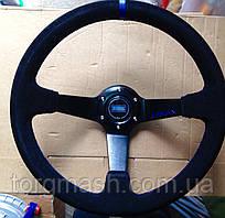Рульове колесо з виносом 350 мм матеріал замша