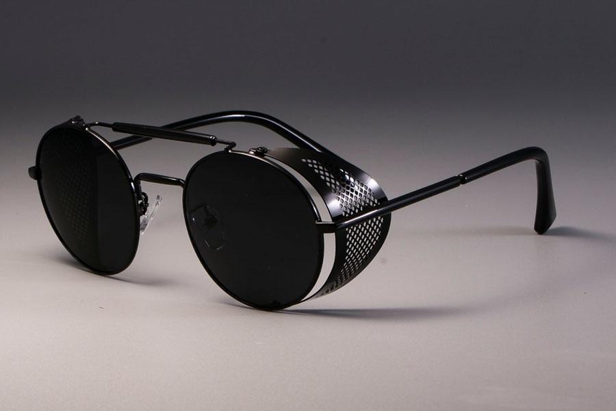 Очки солнцезащитные Ретро стиль (металл)