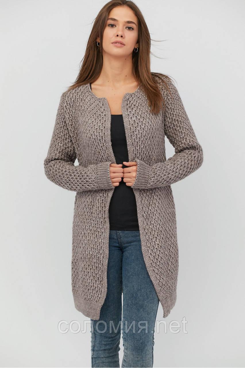 теплый вязаный кардиган стильный продажа цена в києві светри та