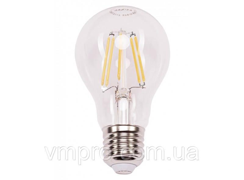 Світлодіодна лампа Filament Luxel A60 9W, 220V (073-H 9W)