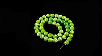 Заготівля з перламутру ,зеленого 8мм, фото 1