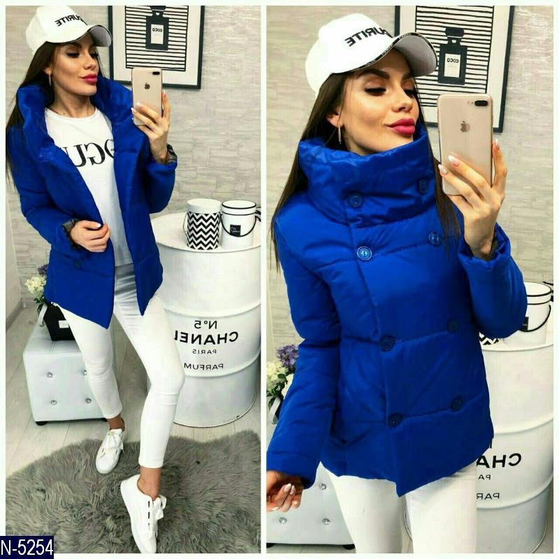 Легкая стеганая куртка женская