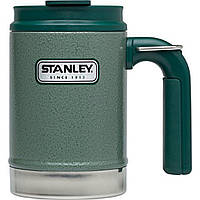 Термокружка Stanley Classic Camp 0.47 л Зеленая (4823082708321/6939236322867)