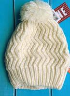 Зимняя шапка для девочки Lenne Renac 18389-100. Размеры 52, 54 и 56
