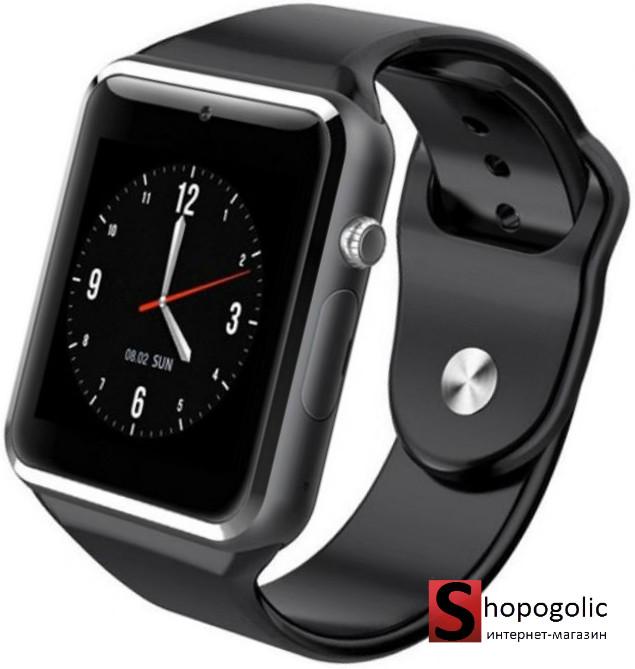 Смарт часы с камерой Smart Watch A1 в стиле Apple watch