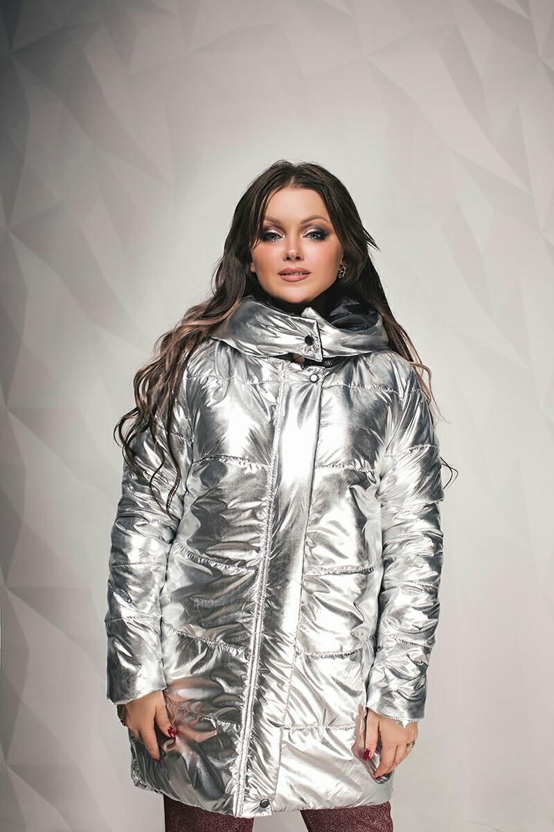Зимняя женская куртка Блеск эм198