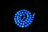 Заготівля з перламутру , блакитного 8мм