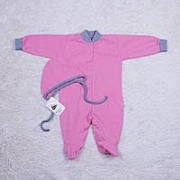Комбинезон пижама Mini (розовый)
