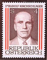 Австрія 1980 р. Рудольф Кирчшлагер