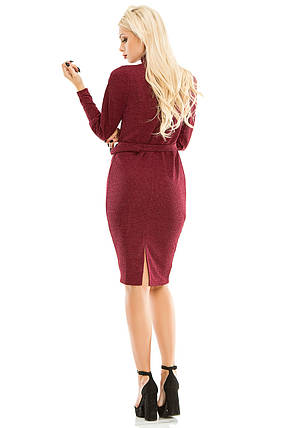 Платье 443 бордо, фото 2
