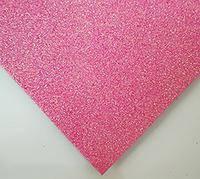 Фоамиран с глитером розовый 20*30
