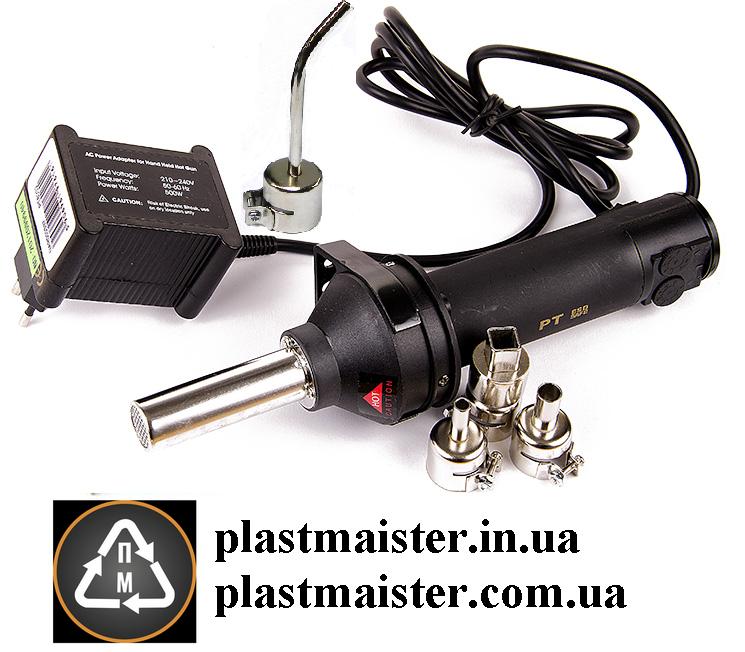 PT 8032 аппарат для сварки (пайки) пластика от AOYUE + 4 СОПЛА