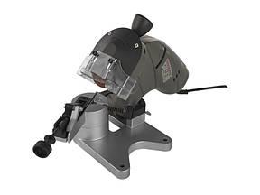 Точильний верстат для заточування ланцюгів Енергомаш 160 Вт, 3000 об/хв, диск-100/10/3.5 мм МС-60016