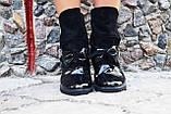 Ботинки эколак + натуральная кожа. Подошва: черная и белая. Размеры: 36-42  код 4563О, фото 2