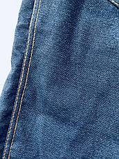 Теплые лосины (джеггинсы) модель 019.1 (джинсовый), фото 3