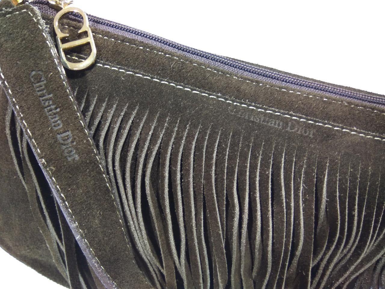 Сумка клатч женская бренд Christian Dior Saddle Bag