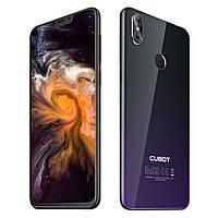 Смартфон Cubot P20 черно-фиолетовый,цвет градиент (экран 6,18 дюймов, памяти 4/64, акб 4000 мАч)