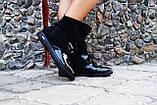 Ботинки эколак + натуральная кожа. Подошва: черная и белая. Размеры: 36-42  код 4563О, фото 3