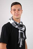 Шарф Алекс белый+черный, фото 1