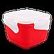 Контейнер с зажимом Фиеста 0,9 л квадратный Алеана 168052, фото 2