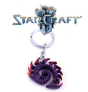 Брелок Символ Зергов Старкрафт Starcraft