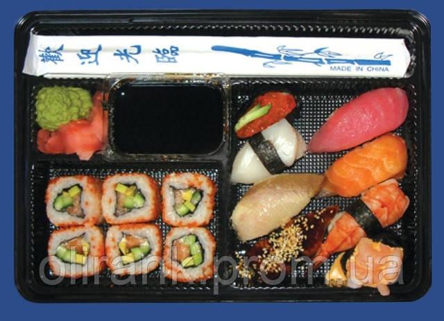 Упаковка ПС-610 ДЧ + ПС-61 (суши-бокс)