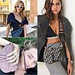 Сумка клатч женская бренд Christian Dior Saddle Bag, фото 4