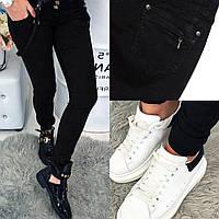 0106 Mardoc черные джинсы с обычной посадкой (25-30, 6 ед.), фото 1