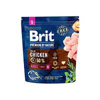 Brit Premium Dog ADULT S 1 кг Корм для собак мелких пород (1-10 кг)