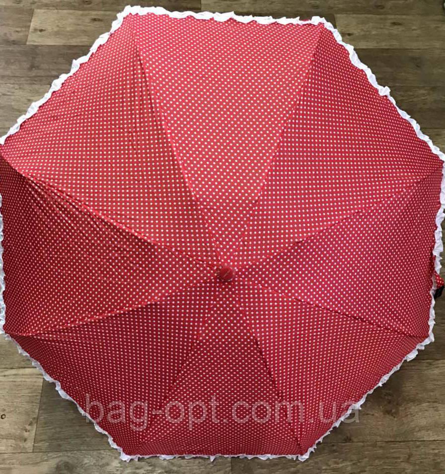 Женский зонт механика Feeling Rain (черный)