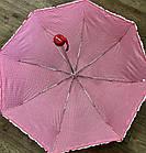 Женский зонт механика Feeling Rain (черный), фото 2