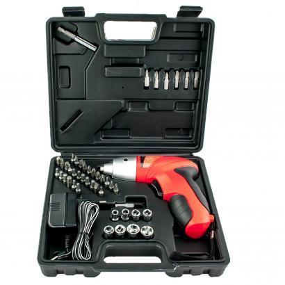 Шуруповерт электрический Cordless Screwdriver (45 предметов) - отвертка аккумуляторная