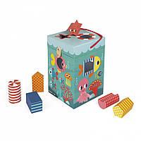Развивающая игрушка Janod Сортер Океан (J02785)
